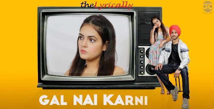 Gal Nai Karni Lyrics NAVJEET