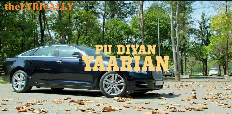 P.U. Diyan Yaarian Lyrics